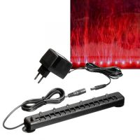 LED LIGHT BAR W. AIRTUBE RED 22CM