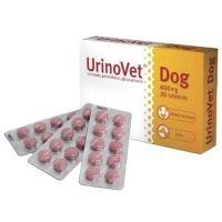 VetExpert UrinoVet Dog, 400mg suņiem 30tbl.