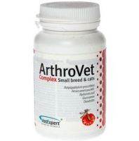 VetExpert - Arthrovet HA Complex Small Breed & Cats 60 Kaps