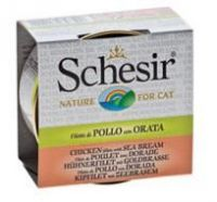 Schesir in broth chicken & sea bream dinner, 70g
