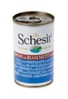Schesir Cat, Tuna with whitebaits natural style, 140g