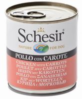 Schesir Dog Chicken & Carrots, 285g