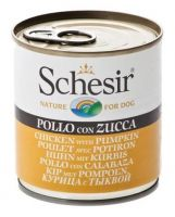 Schesir Dog chicken & pumpkin, 285g