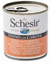 Schesir Dog Tuna & Carrots, 285g