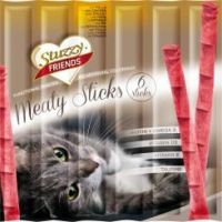 Stuzzy Friends Meaty Sticks - vistas gaļa, 6x5g