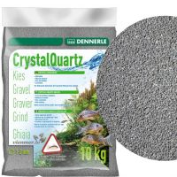 Dennerle CRYSTAL QUARTZ GRAVEL slate grey 10kg
